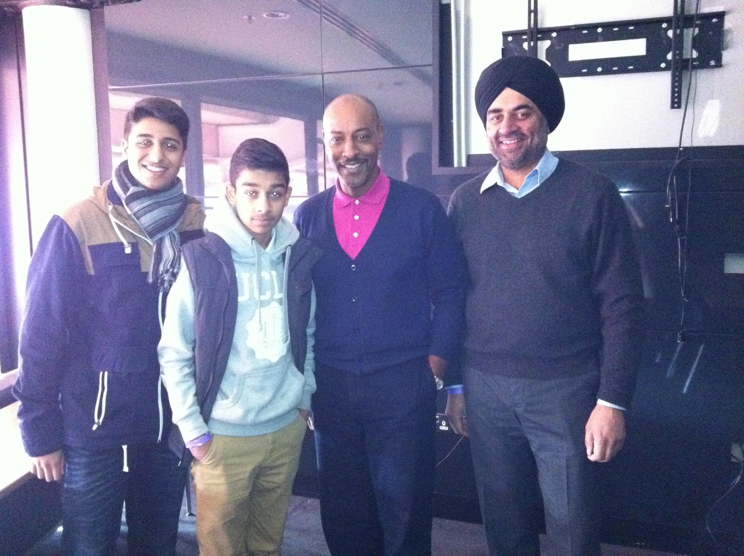 FA Visit - BBC Radio 1 Extra -