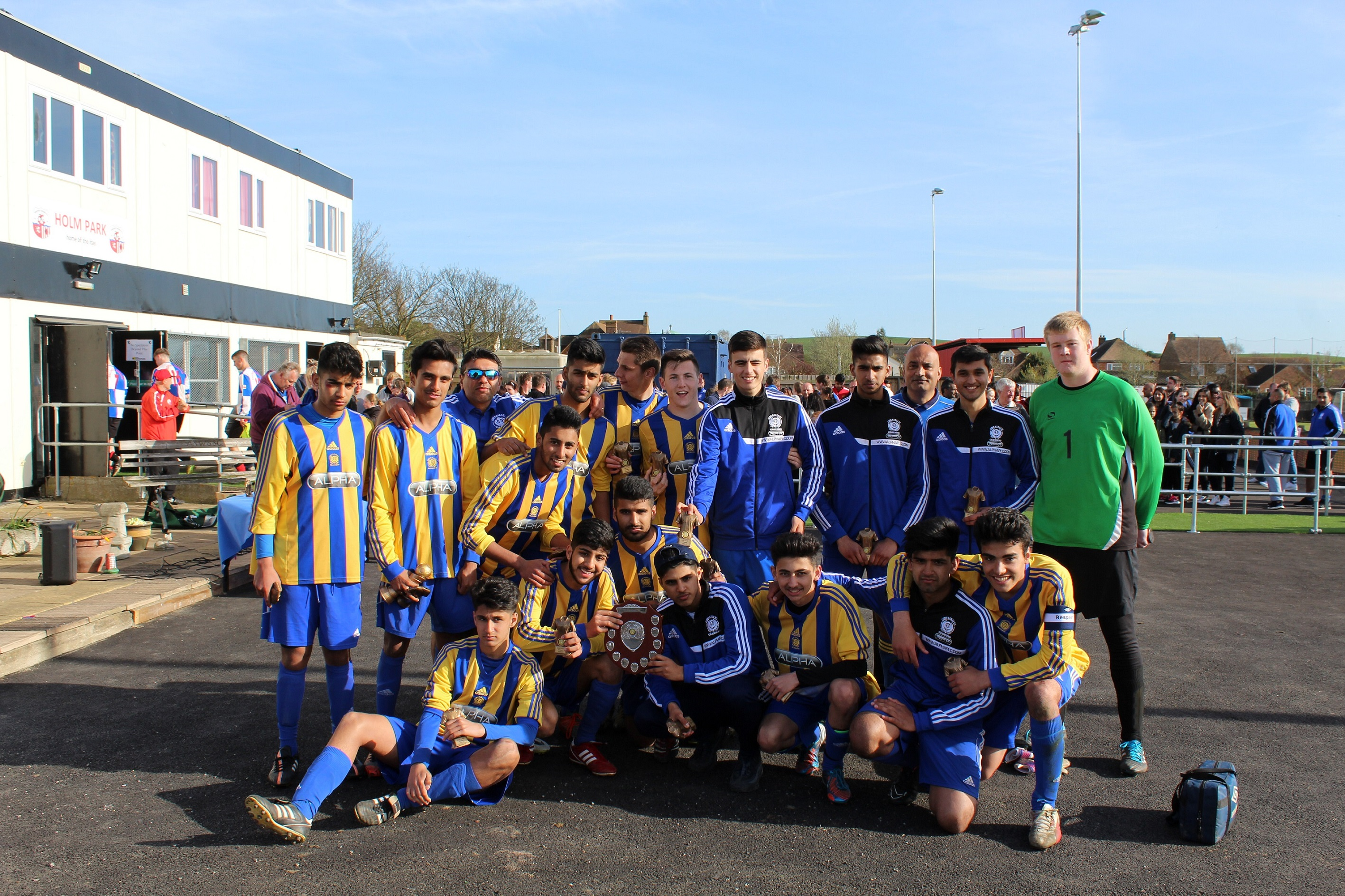 Under 18's MMYL John Leeds Cup Winners 2015