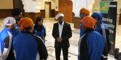 Kick It Out Event @ The Gurdwara 2012
