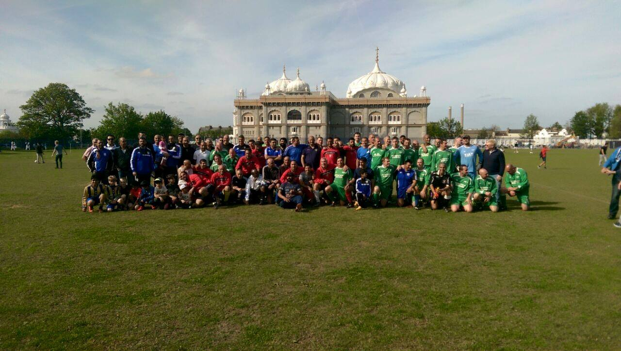 Vets Match May 2015 - Gurus v Greenways