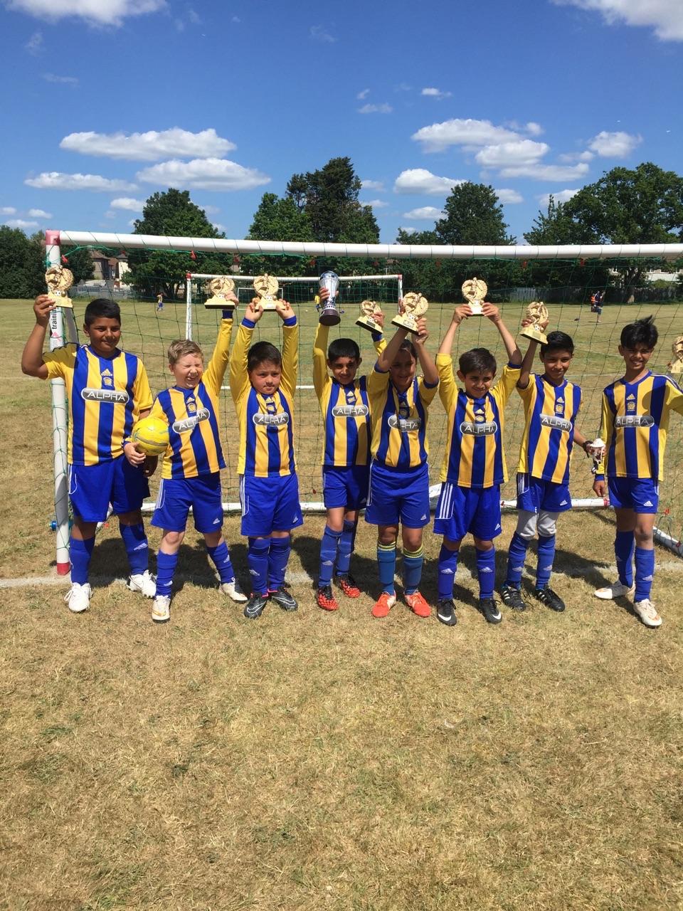 Under 10s Winners