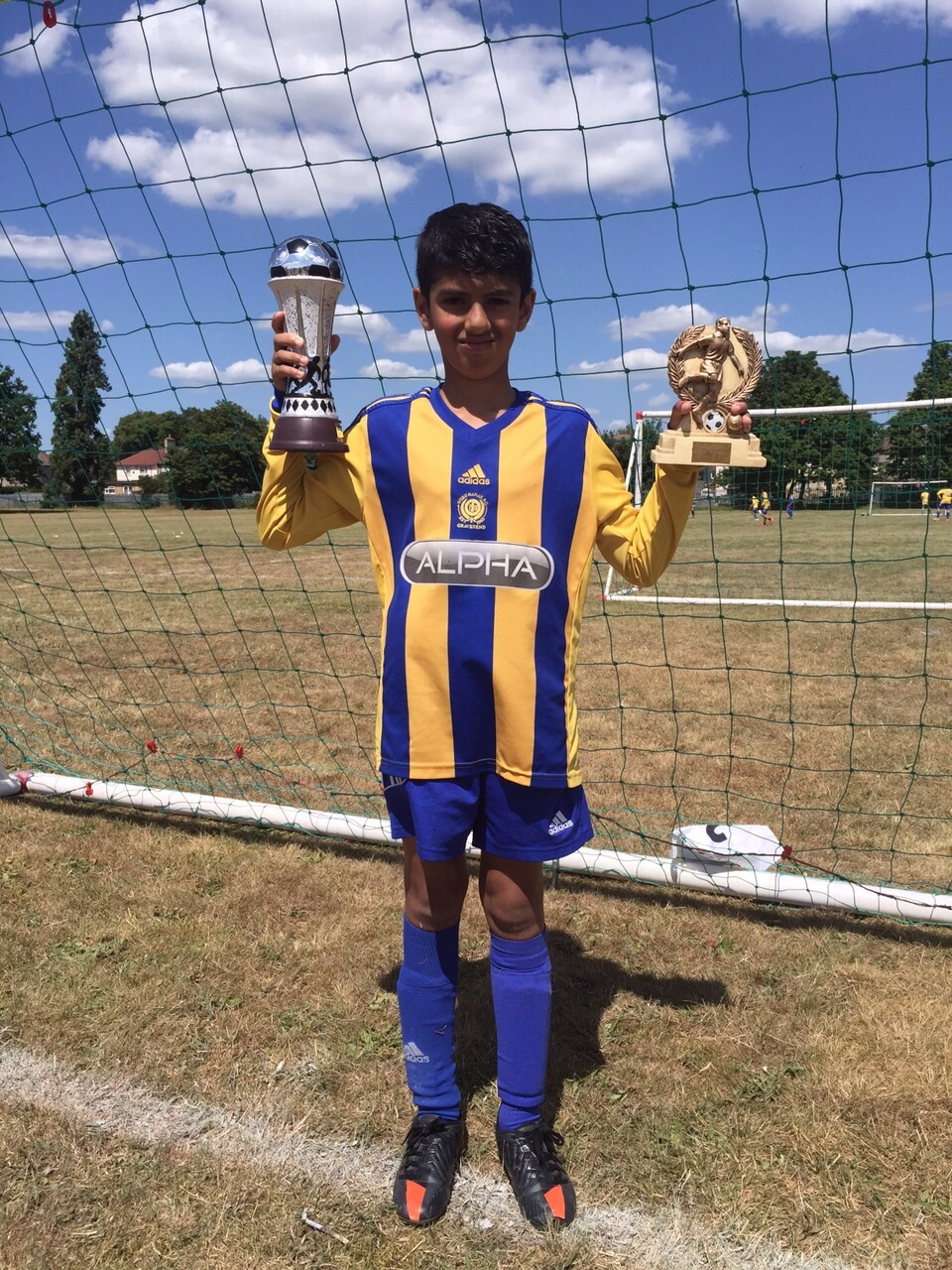 Under 9s Winners - Hari