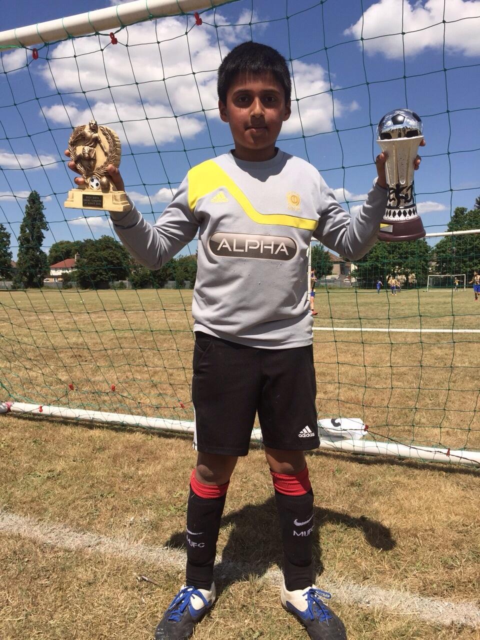 Under 9s Winners - Rajan