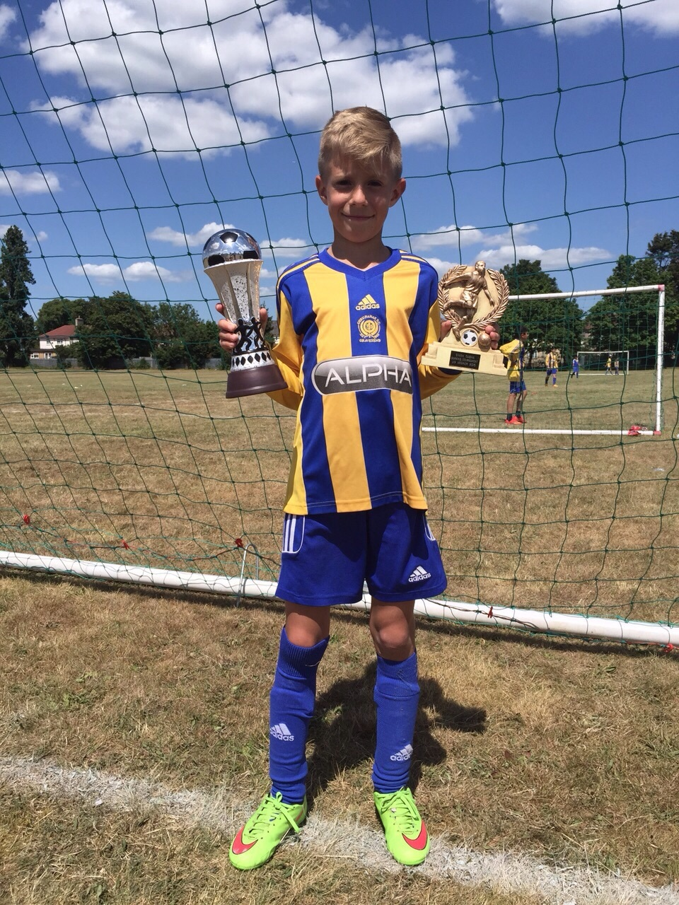 Under 9s Winners - George