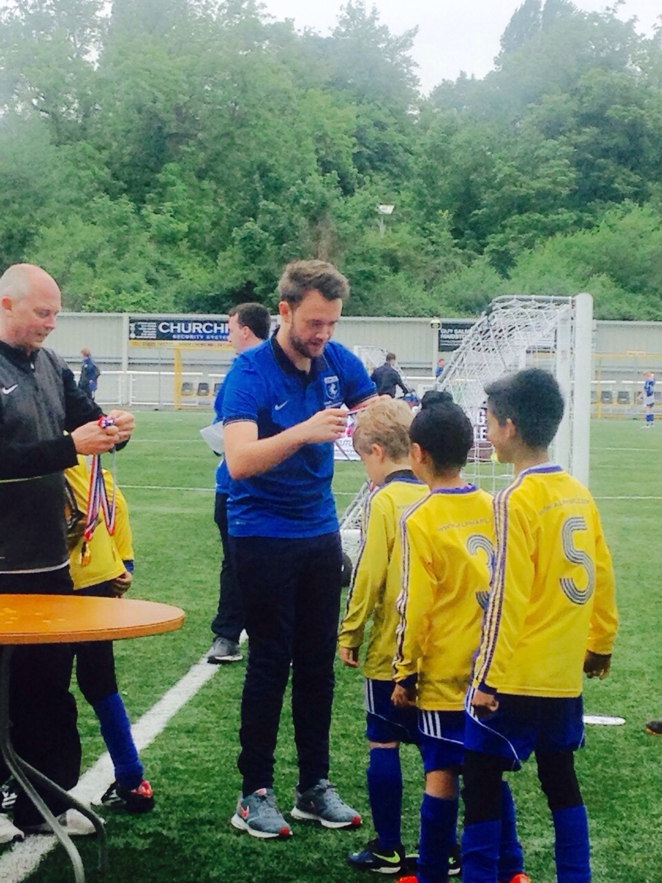 collecting medals