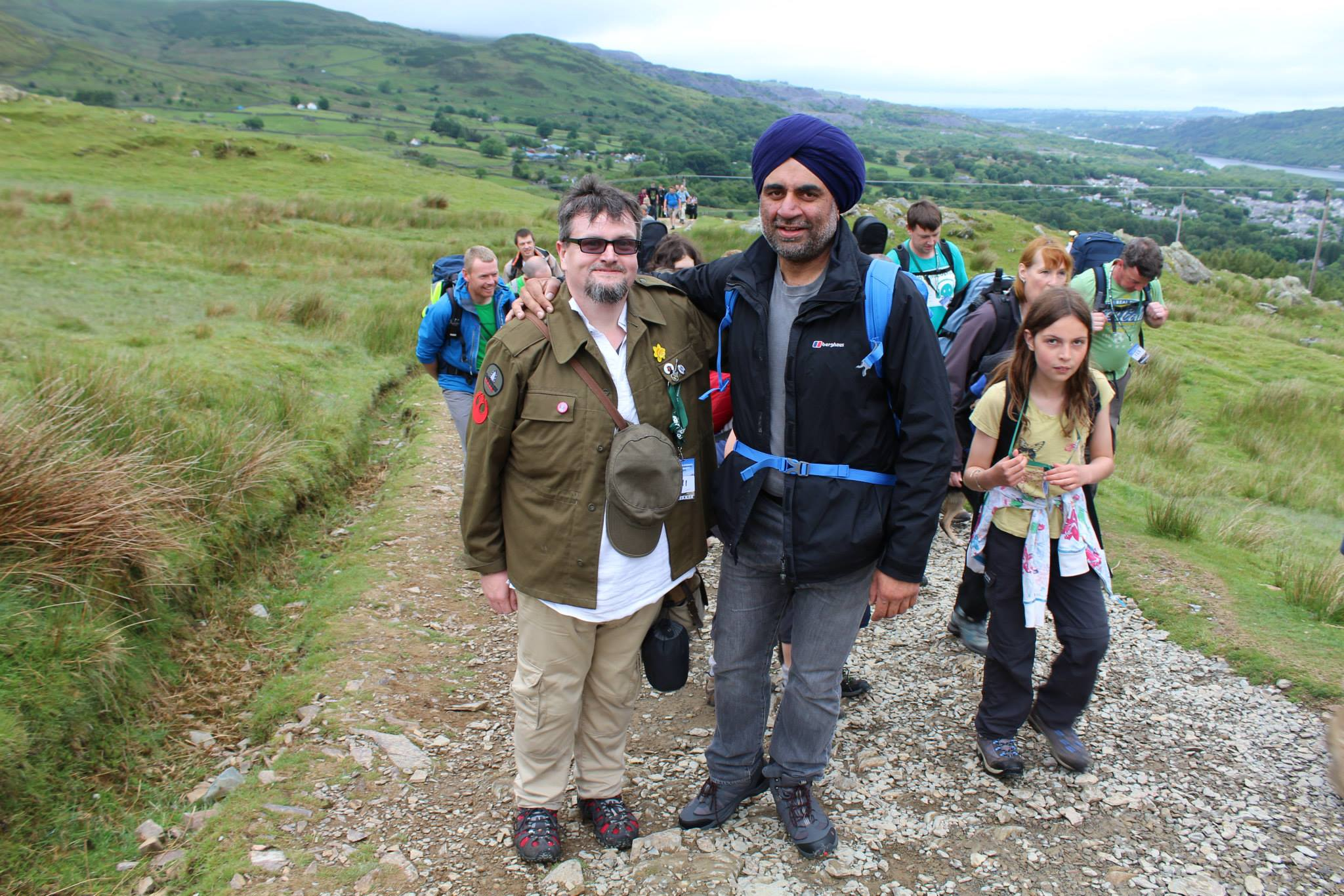Snowdon June 2015 Nepal Earthquake Appeal