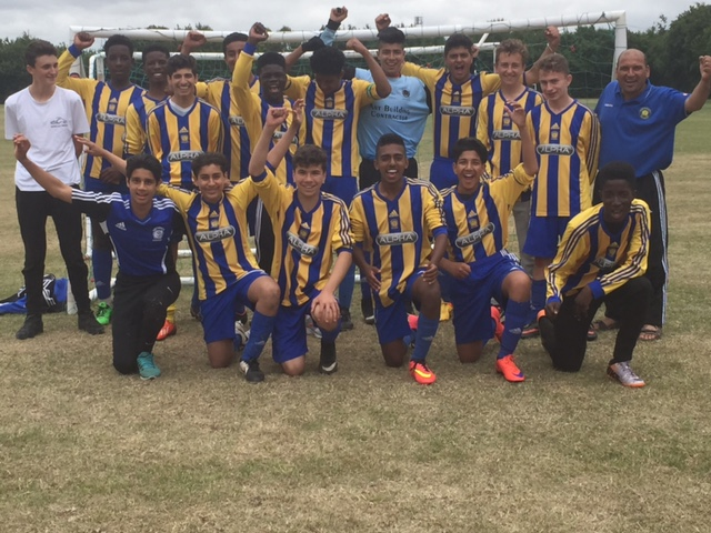Under 15s Horstead Tournament Winners - July 2015