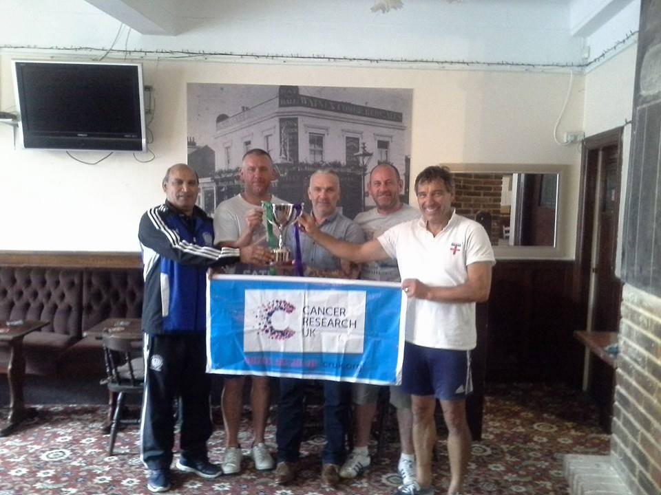 Cancer Research UK - Vets Tournament Aug 2015 - Daran Poppy Sun FC