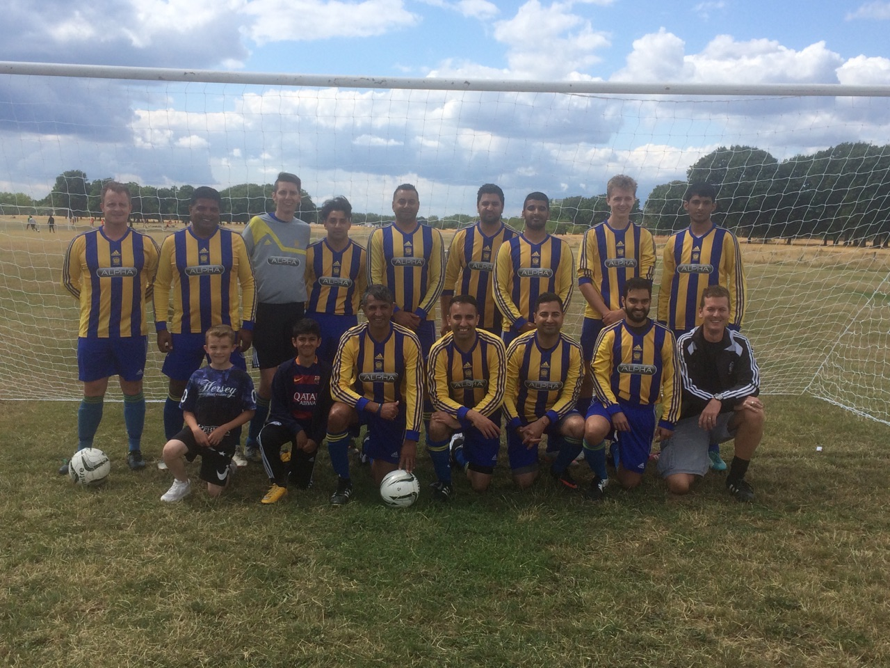 KFF Barking Tournamament Reserve team Semi Finalists July 2015