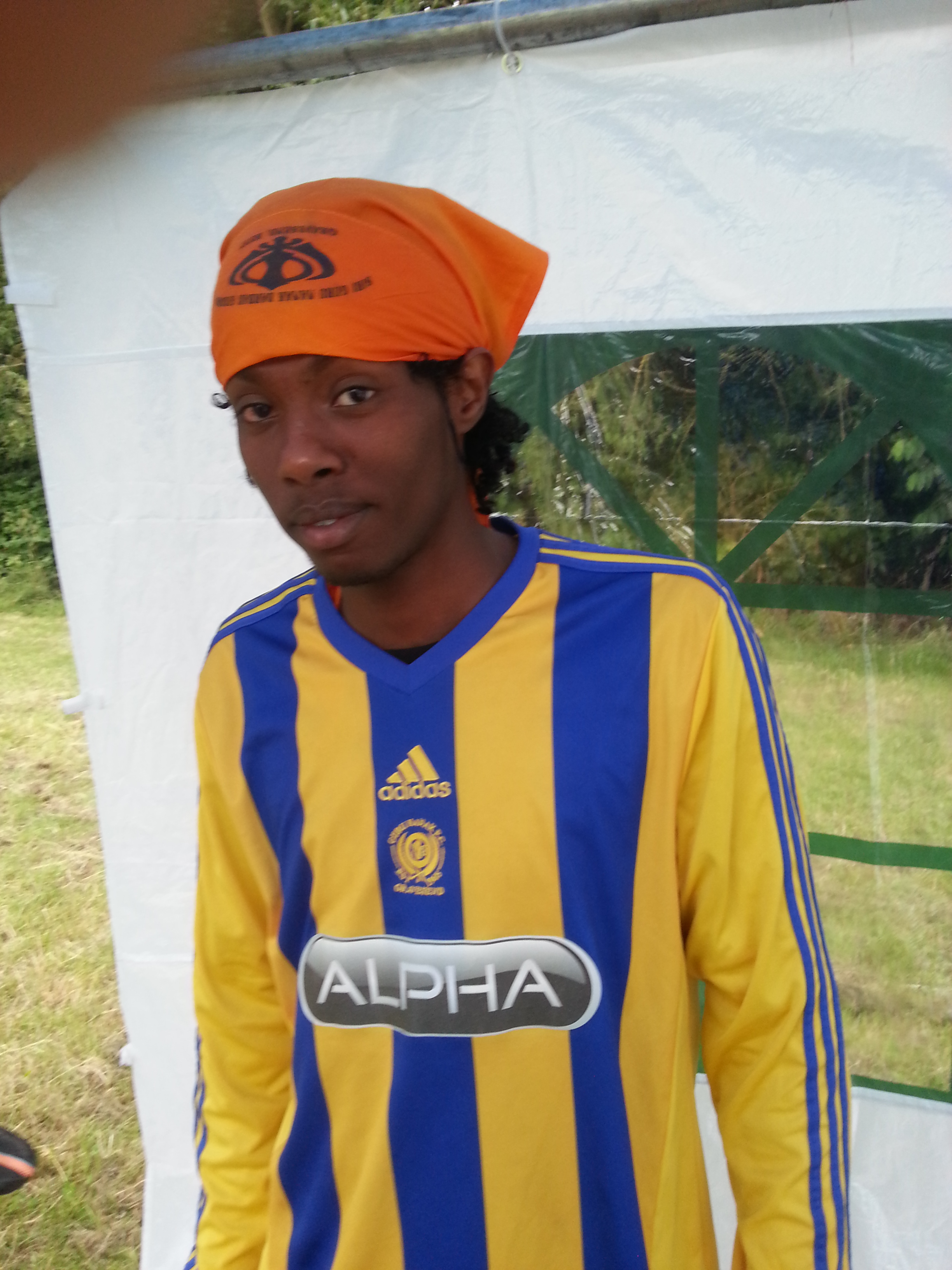 Rasta Sikh (Michael Barhane) at Derby Tournament July 2015