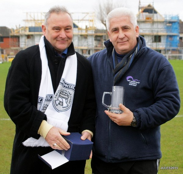Andy Stevens - Manager of the Month November 2015