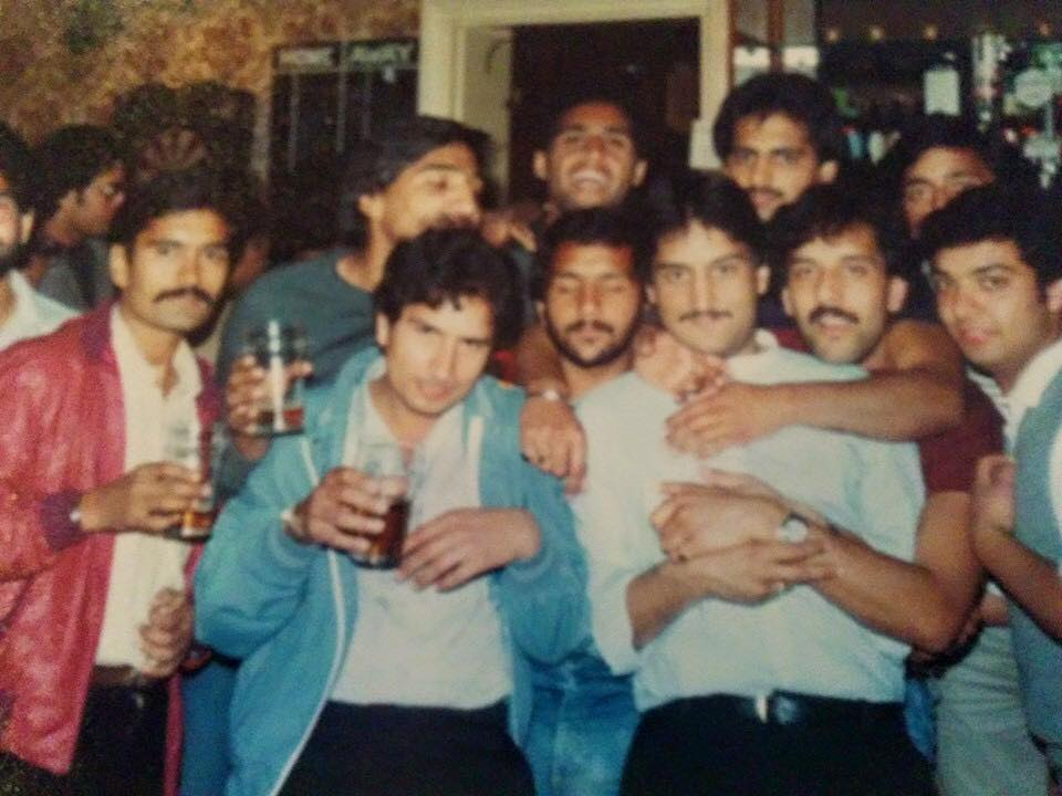 Boxing Day Drink Up in 1980s