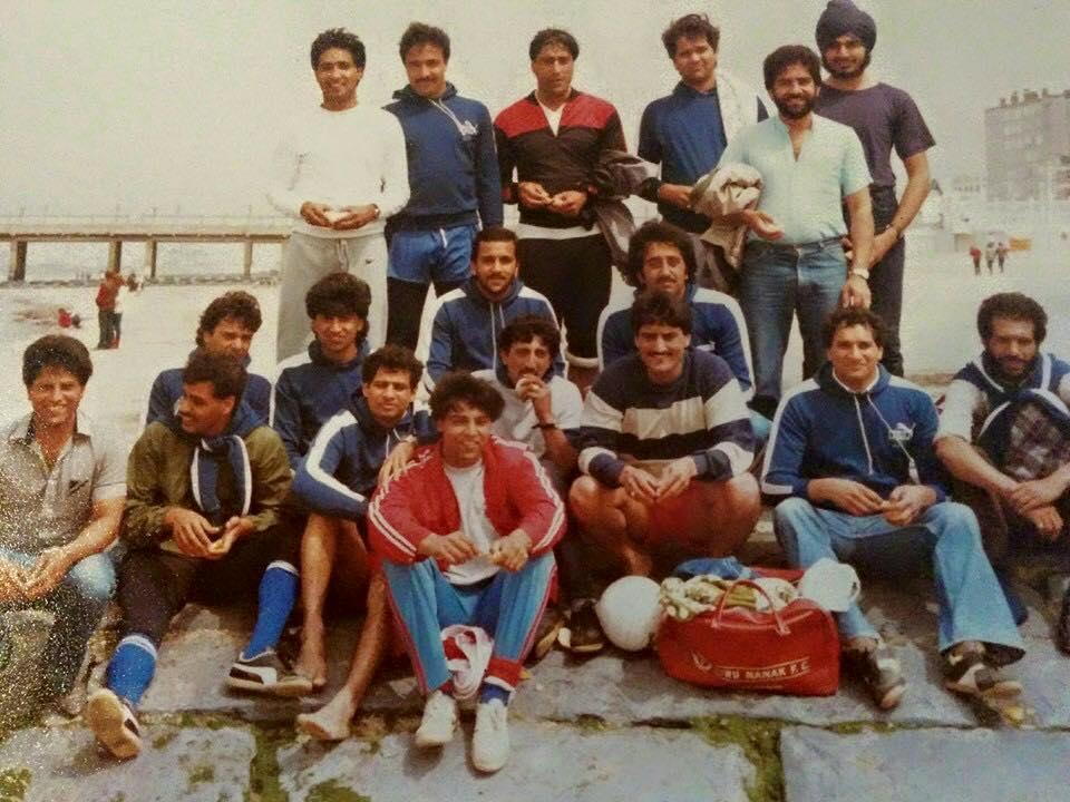 Guru Nanak FC 1983 Belgium Tour Blankenberge Beach