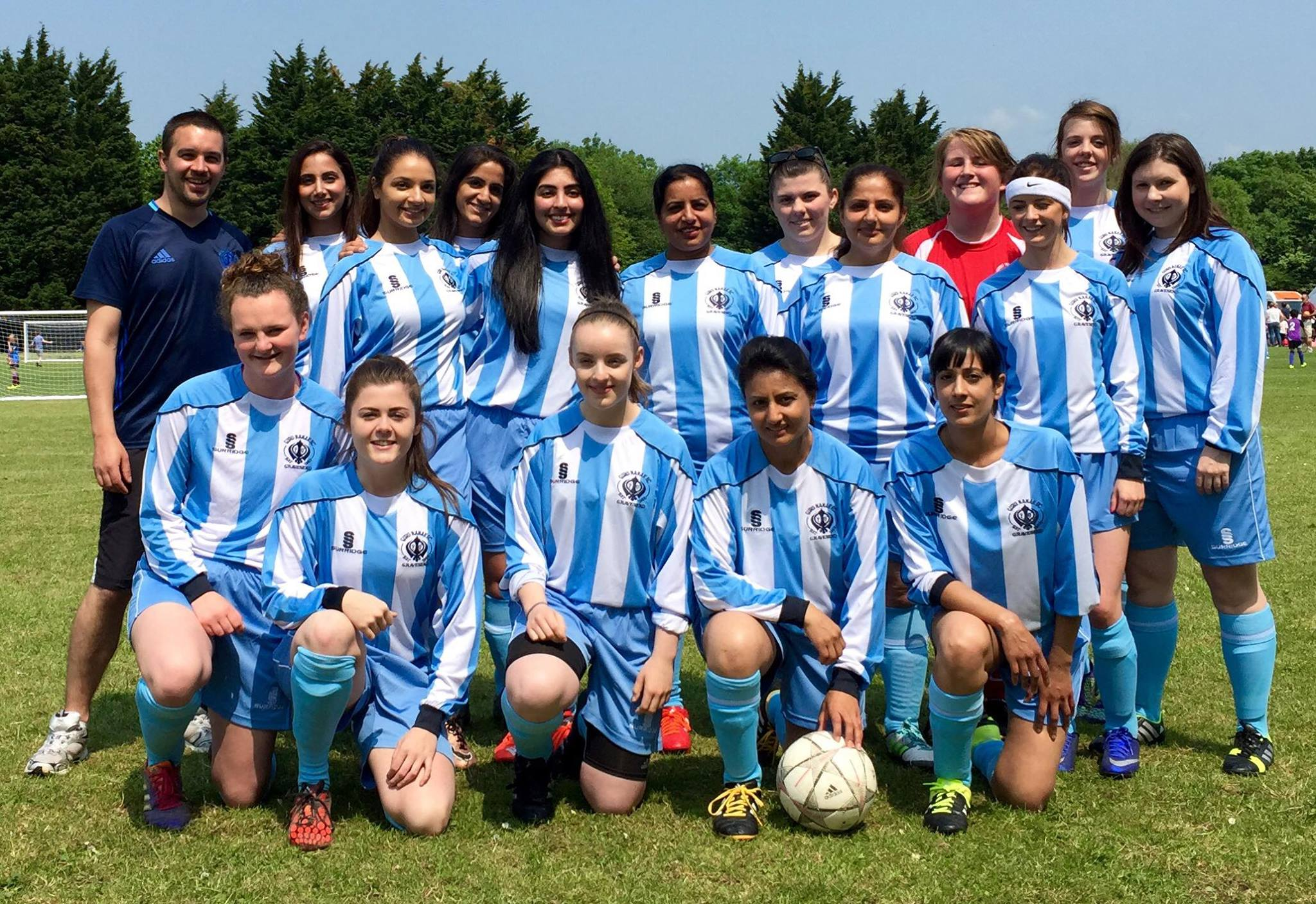 Gurus Womens Team June 2016
