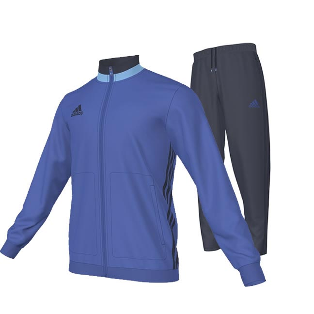 Adidas Condivo 16 Poly Tracksuit Blue (ADULTS)