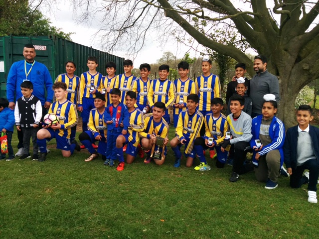 Under 13's Orange NKJFL League Cup Winners 2017