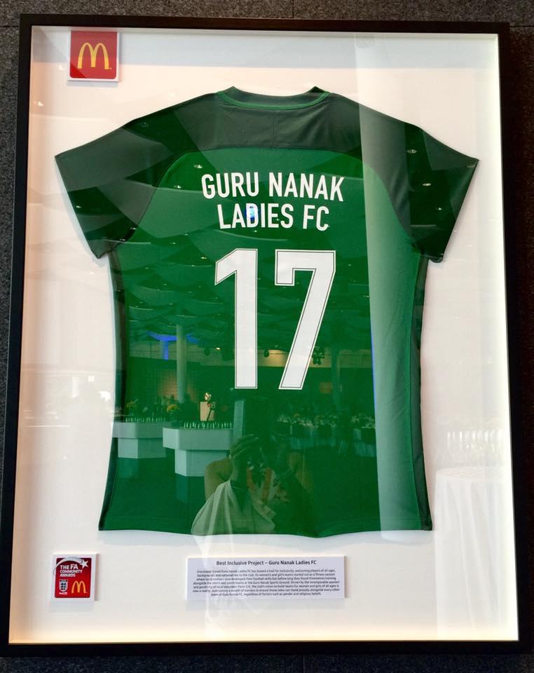 Guru Nanak FC Ladies - Best Inclusion Project Winners 2017